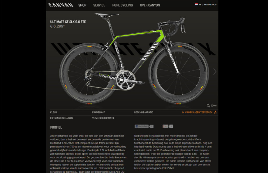 Canyon Bicycles NL